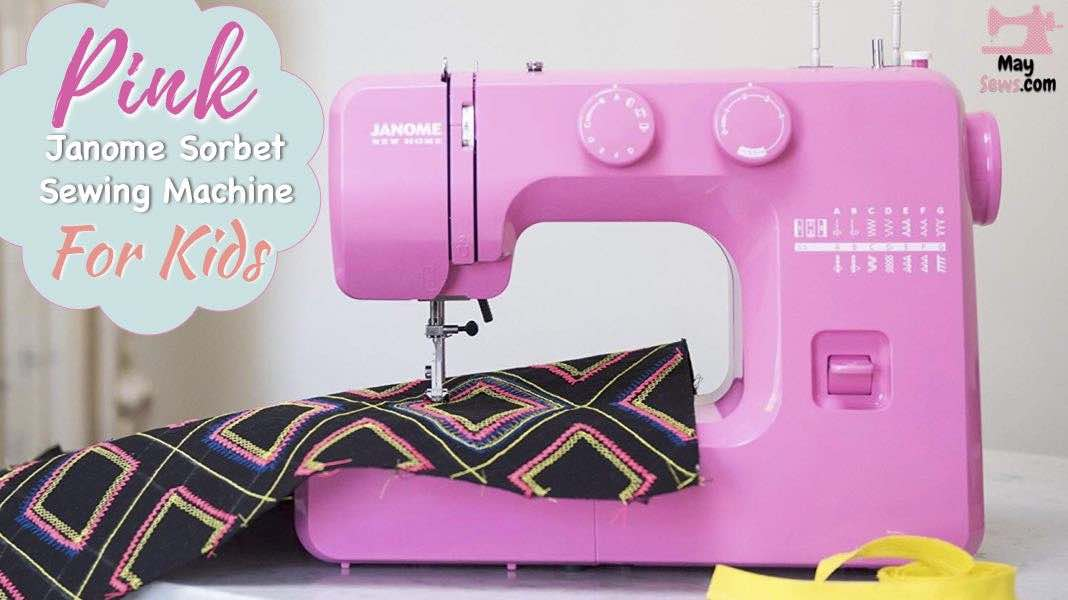 Janome Pink Sorbet Easy To Use Sewing Machine Review