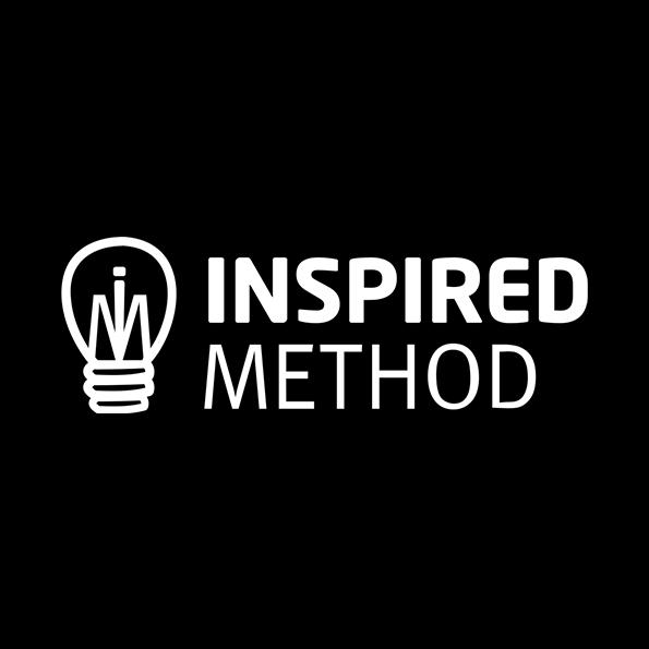 Inspired Method logo white
