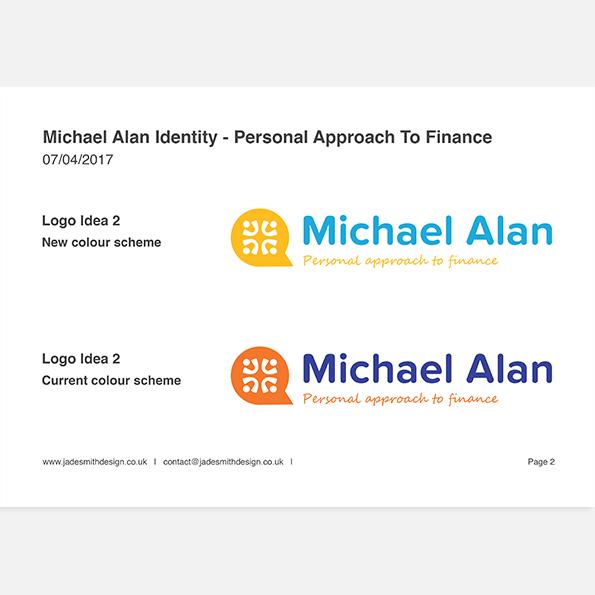 Michael Alan branding