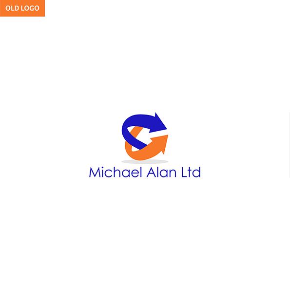 Michael Alan branding old logo