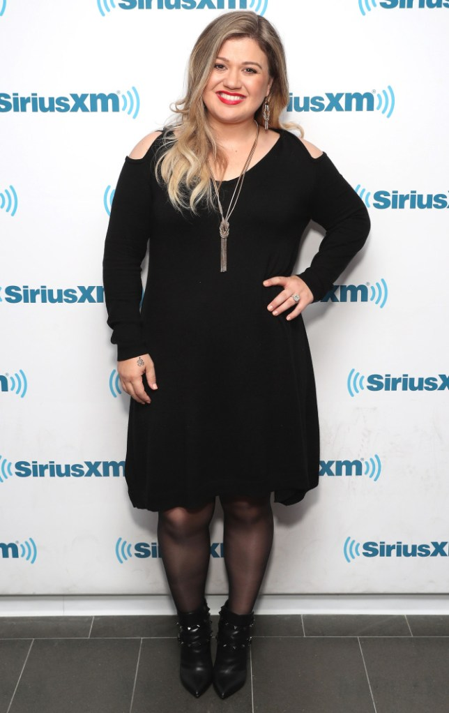 "NEW YORK, NY - OCTOBER 05: Kelly Clarkson is the first guest on Jenny McCarthy's new series, ""Inner Circle,"" on her SiriusXM show ""The Jenny McCarthy Show"" on October 5, 2016 in New York City. (Photo by Cindy Ord/Getty Images for SiriusXM)"