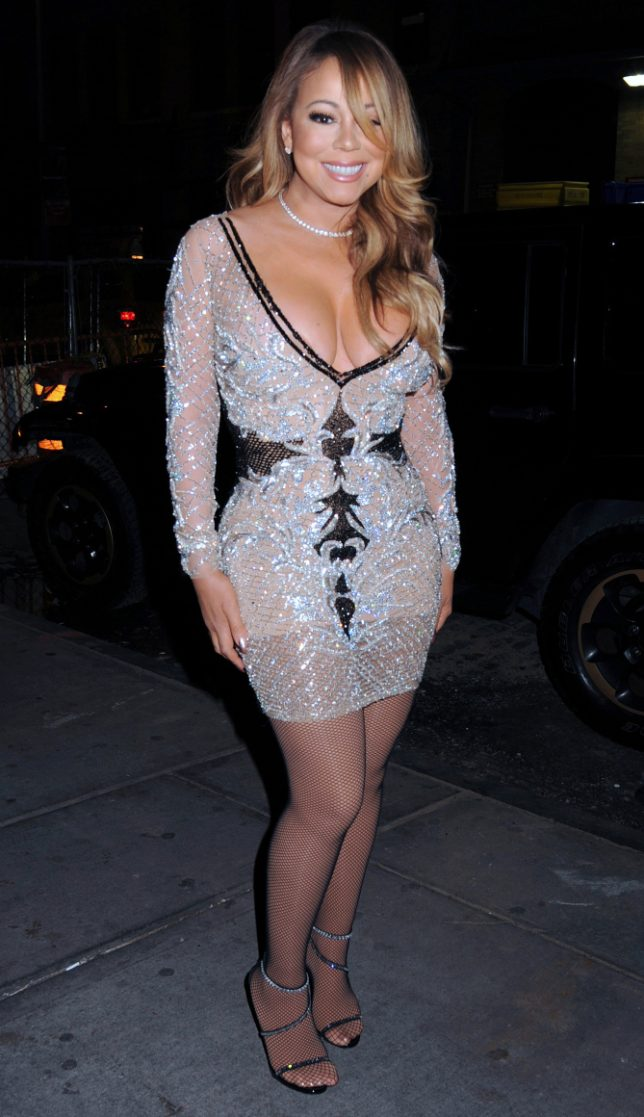 Mariah Carey arrives to Mariah's World on E! Launch Party. Held @ Catch, New York City, NY. Pictured: Mariah Carey Ref: SPL1404498  041216   Picture by: Photo Image Press Splash News and Pictures Los Angeles:	310-821-2666 New York:	212-619-2666 London:	870-934-2666 photodesk@splashnews.com
