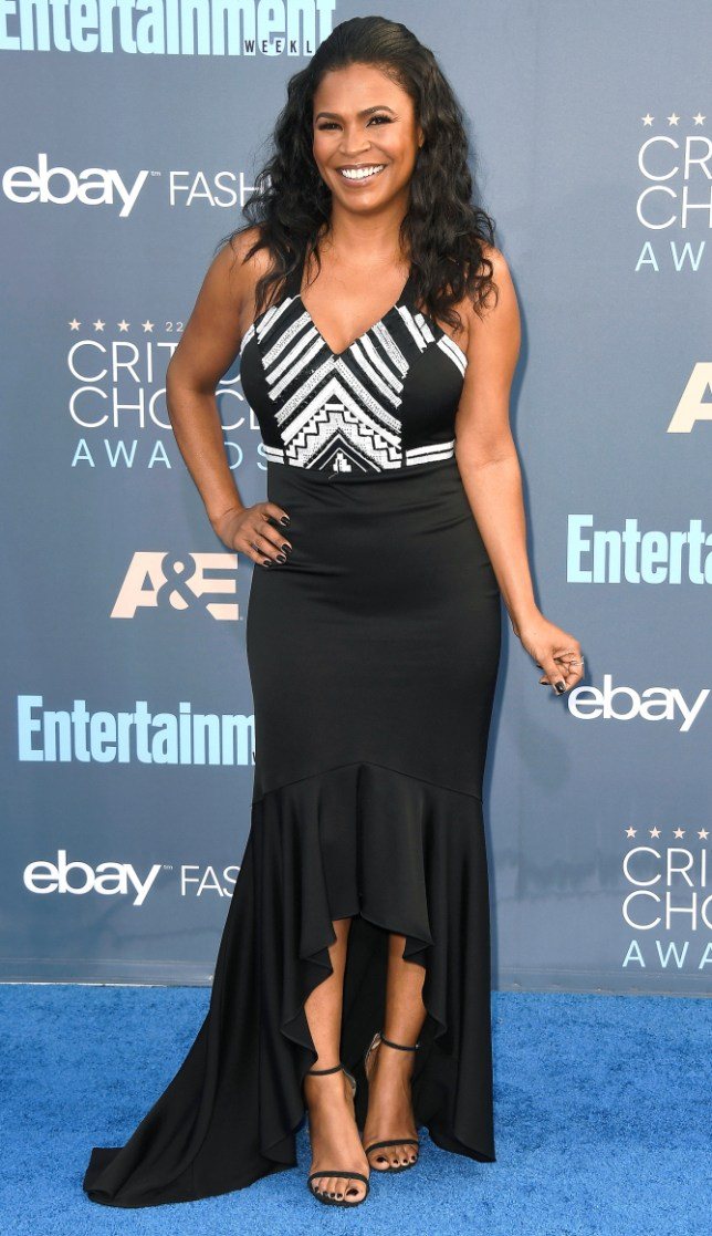 SANTA MONICA, CA - DECEMBER 11: Actress Nia Long attends The 22nd Annual Critics' Choice Awards at Barker Hangar on December 11, 2016 in Santa Monica, California. (Photo by Frazer Harrison/Getty Images)