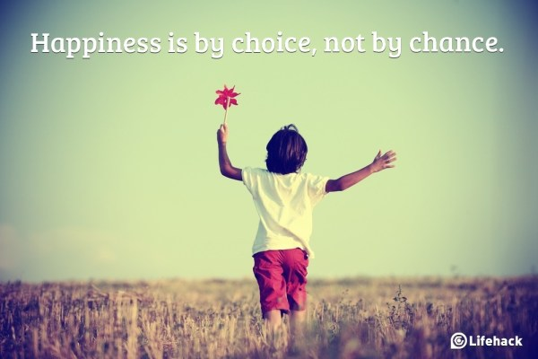 happiness is a a choice