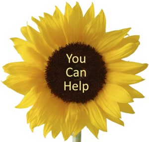 You Can Help flower