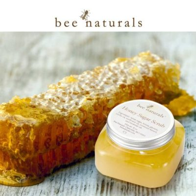 bee naturals honey scrub
