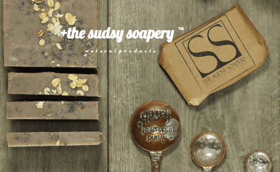 sudsy soapery soap