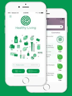 Environmental Working Group Healthy Living App