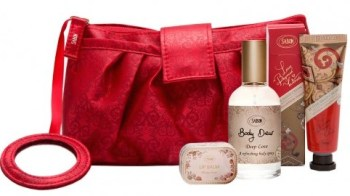 Sabon Lady in Red Holiday Set