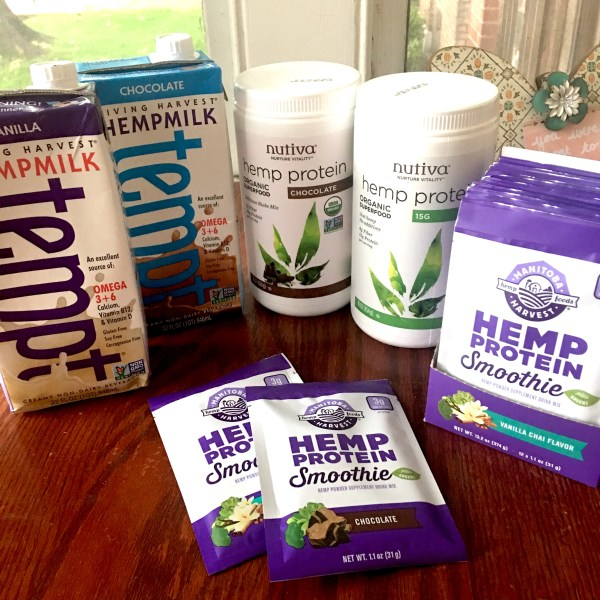 Hemp Protein Powders and Hemp Milk