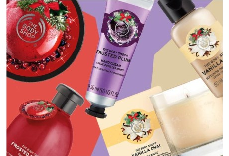 Body Shop Holiday Scents