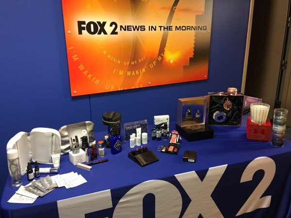 Nordstrom beauty and fragrance sets on Fox 2 News in St. Louis