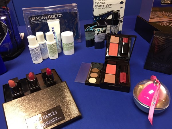 Malin+Goetz, Smashbox, Laura Mercier and Beauty Blender sets