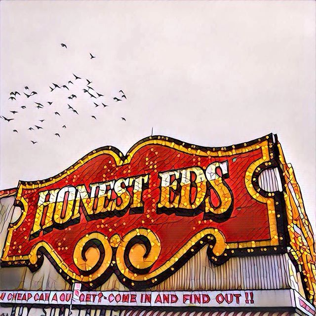 I was disappointed to hear that Honest Ed's will be torn down, making way for yet another soulless Toronto condo building. I hardly recognise my city anymore, and I'm disappointed we don't do more to protect our cultural heritage, even if that heritage is a gaudy, incandescent display on a busy street corner. I'm clearly not the only one who feels this way - this image is the basis of one of my most popular pieces, and in recognition of that I've got some colour versions in the works.  Ed's, we hardly knew ye.http://www.maz.ca/dustonmyboots/product/honest-eds-wood-block-photo-art-2/#toronto #architecture #culture #neon #light #lights #honesteds #shame #igers #igersworldwide #igersdaily #ig_great_pics #igtravel #canada #heritage #buildings #landmark #travel #traveler #travelgram #traveling #travelphoto #traveller #travelphotography #travels #travellife #prisma #filter #yyz #digitalart