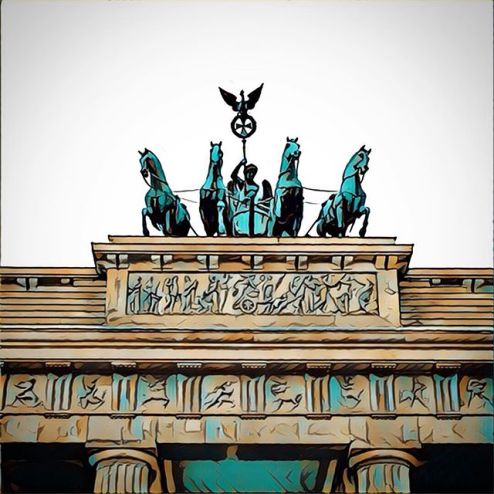 closeup of statue on top, horse and carriage statues, roman figures, greek statue, brandenburger tor, the brandenberg gate, brandenburg gate, auriga, photos of berlin germany, photography in berlin, images of berlin