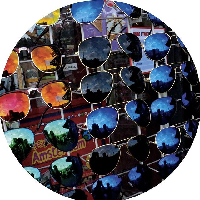 Amsterdam Netherlands sunglasses tourist display