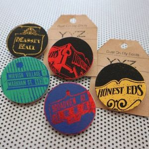 Art Pins and Badges