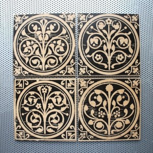 sainte chapelle, paris france, fleur de lys, medieval flowers, renaissance home decor, tile magnet sets, sainte chapelle, paris france, medieval tiles, religious iconography, circles and geometric designs, medieval flowers, inlaid inlay floor tiles