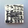 paris metro sign, parisian bakery sign, boulangerie parisienne, paris street scenes, paris france artwork, street scenes paris