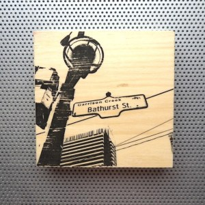 bathurst street, toronto street signs, ontario home decor, street art artwork,
