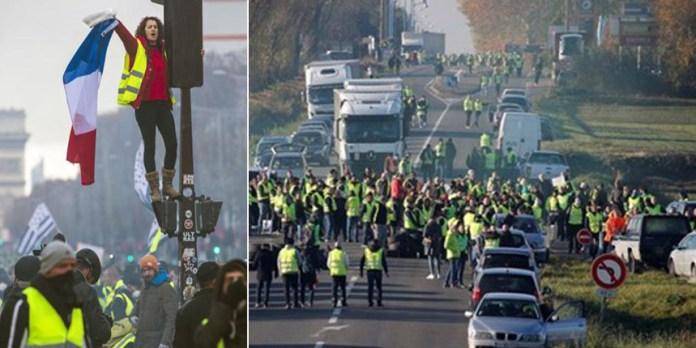 Paris cleanup: photo AFP