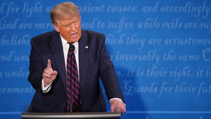 Trump hints he won't let Debate Commission change rules after he easily won