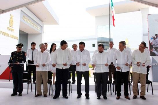 Inauguran Centro de Justicia Penal