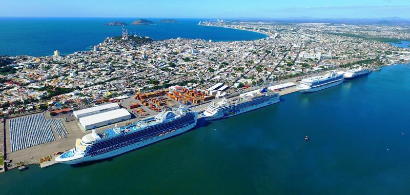 Crece Mazatlán en 2015 en recepción de turistas de cruceros