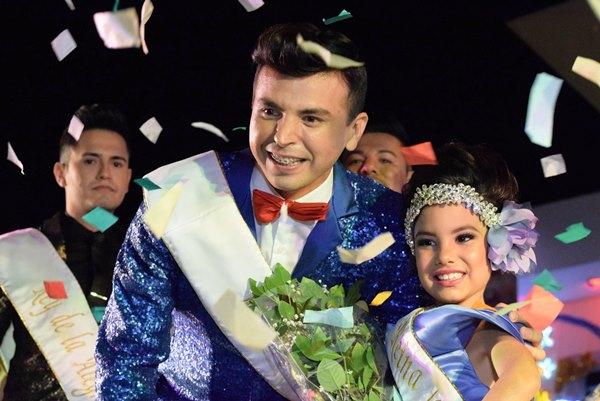Emilia y Bernardo Carnaval Infantil y d ela ALegría 2016