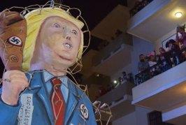 """Donald Trump Arde como """"Cochi"""" de Granja en Mazatlán"""