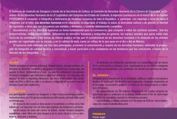 """Convocatoria  Concurso Nacional de Fotografía """"Derechos Humanos"""""""