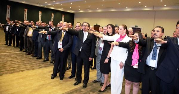 Canaco Consejo Directivo 2016-2017 Toma Protesta