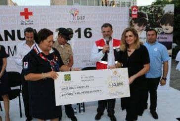 Inicia la Colecta de Cruz Roja Mazatlán