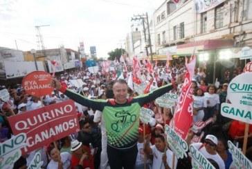 Cierres de Campaña Quirino en Choix y Guasave