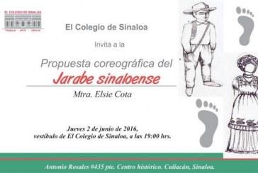 Presentarán el Jarabe sinaloense en El Colegio de Sinaloa