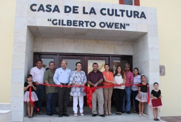 """Rehabilitación de la Casa de la Cultura """"Gilberto Owen"""""""