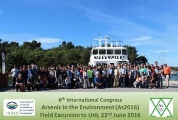 6º Congreso Internacional sobre Arsénico en el Medio Ambiente, celebrado en Estocolmo, Suecia.