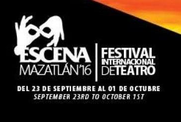 """VI edición del Festival Internacional de Teatro """"Escena Mazatlán 2016""""."""