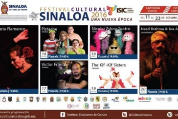 Vivirá Elota el Festival Cultural Sinaloa 2016