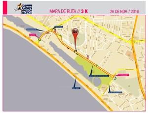 Rutas Alternativas del Gran Maratón Pacífico Mazatlán 2016