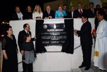 Inauguran el Teatro Ingenio Los Mochis