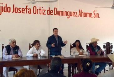 Álvaro Ruelas Echave promete un mejor Ahome