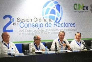 Inaugura Quirino Ordaz Sesión del Consorcio de Universidades