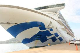 Arribo de Crucero turístico