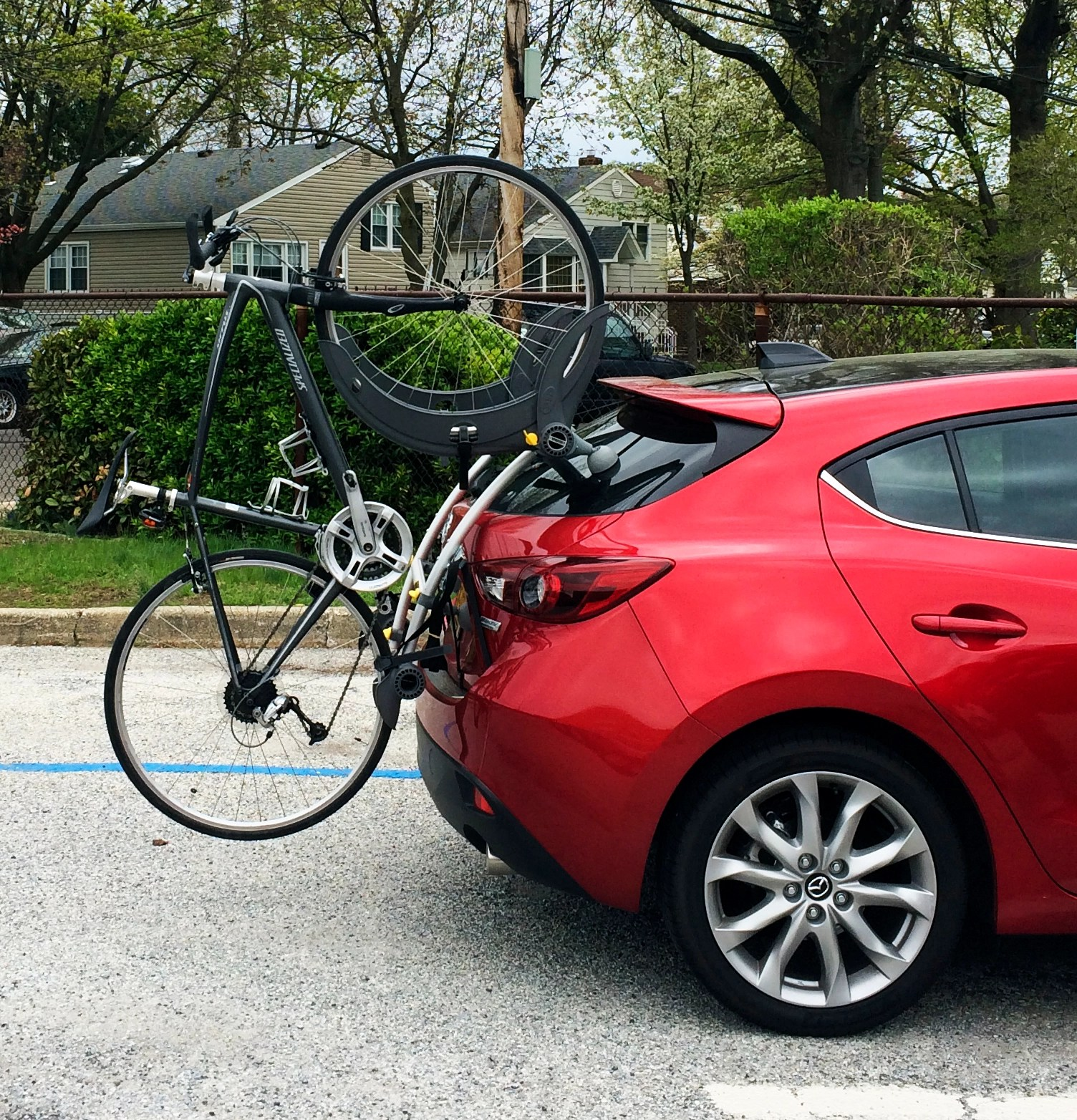 trunk bike rack for hatch 2004 to