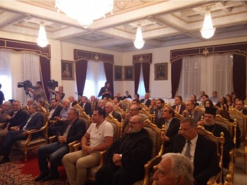 Η Α.Μ ο Αρχιεπίσκοπος Κύπρου κ.κ. Χρυσόστομος απένειμε το χρυσό παράσημο του Αποστόλου Παύλου