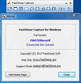 FastStone Capture Full Version incl License Key