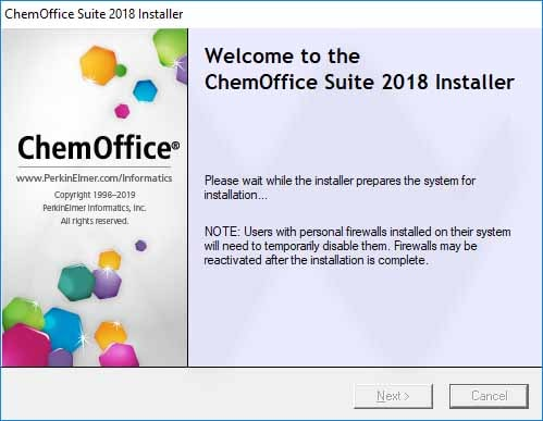 ChemOffice Suite 2018 Registration key Free
