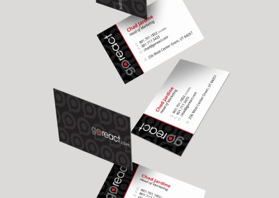 GoReact Business Cards