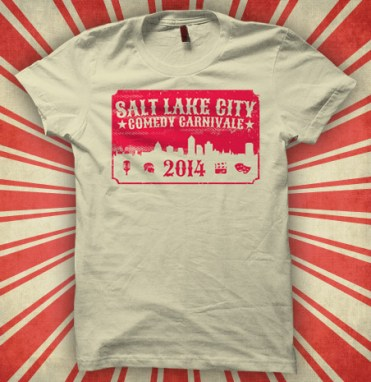 Salt Lake City Comedy Carnivale T-Shirt